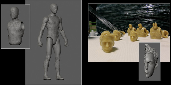 3D Modeling Process Step 4