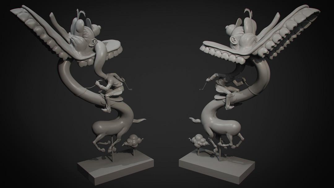 Fine Art 3D Modeling