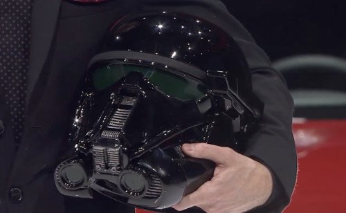 Gentle Giant Studios Delivers Death Trooper Replica Helmets for Nissan Rogue One