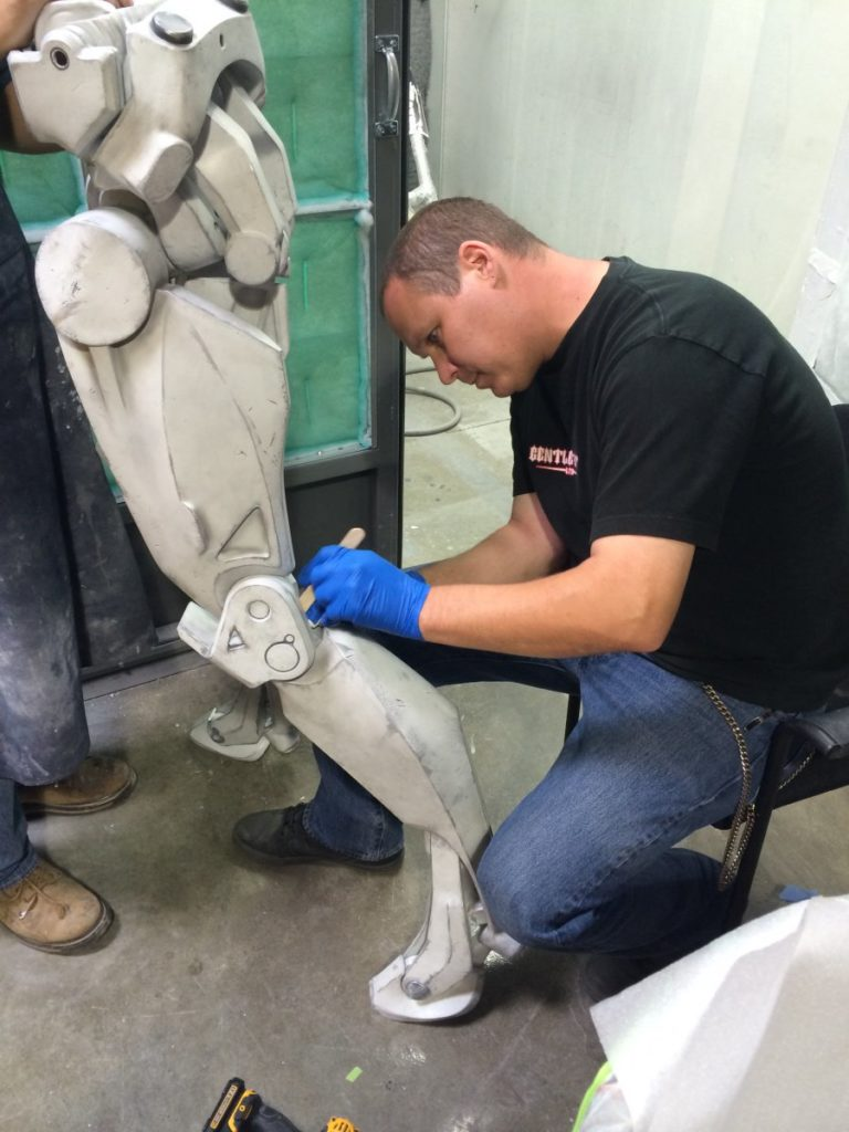 Painting the Singleton Robot