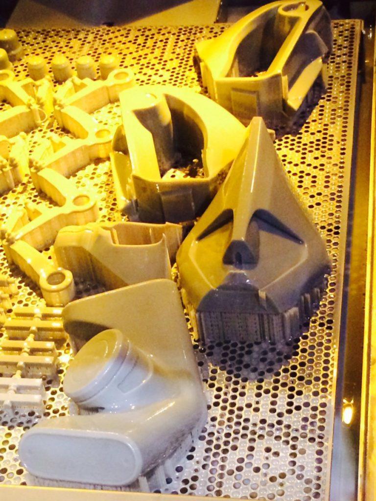 Singleton Robot 3D Printed